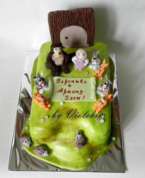 Персональный сайт торт маша и